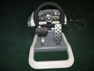 Microsoft XBOX 360 Wireless Racing Steering Wheel w/ Force Feedback