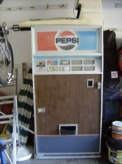 vintage pepsi vending machine in Banks, Registers & Vending