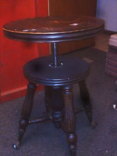 antique piano stools in Benches & Stools