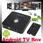 Full 1080P HD Android 2.3 Internet TV Box Media Player HDMI 1.3 WIFI