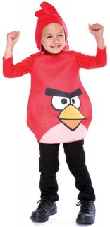 Angry Birds Red Bird Child Toddler Costume *New*
