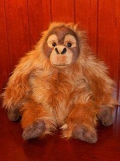 Animal Alley Monkey Orangutang Orangutan Plush Stuffed Animal Toy