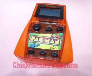 NAMCO MGA PACMAN PAC MAN ELECTRONIC HANDHELD VIDEO GAME *WORKS* ARCADE