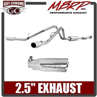 S5232409 MBRP Dual Exhaust System Ford F150 2011 2013 (Fits Ford F