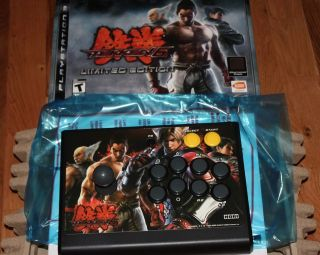 Hori Namco Tekken 6 Arcade Joystick Controller for PS3 Brand New