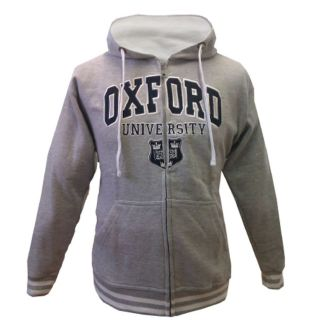 Oxford University Baseball Jacket Hoodie Grey XS XL London Olympics