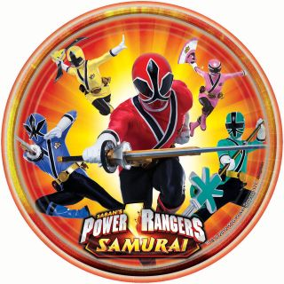 NEW POWER RANGERS SAMURAI BIRTHDAY PARTY SUPPLIES * MIX