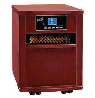 CZ2011C Comfort Zone Deluxe Infrared Quartz Heater Cherry procom