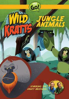 Paramount Wild Kratts jungle Animals [dvd]