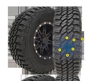 PRO COMP XTREME ALL TERRAIN TIRES 35 12.50 R 17 NEW