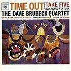 The Dave Brubeck Quartet Time Out CD Like New Jazz Paul Desmond Joe