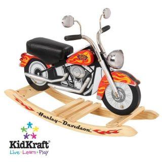 KidKraft Harley Davidson Orange Cycle Roaring Rocker