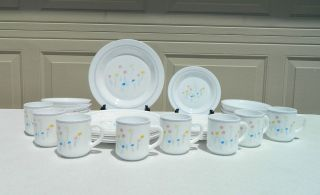 Arcopal France Pastoral Dinnerware Set Service For 8   32 Pieces
