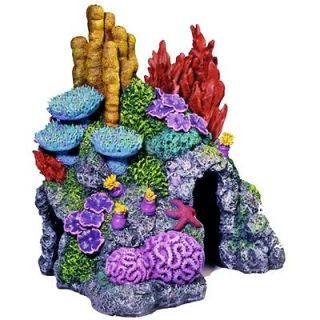 Reef Coral Replica 410 small ~ aquarium ornament fish tank decoration