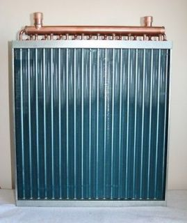 16x18 Water to Air Heat Exchanger Outdoor Wood Furnace