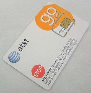 Newly listed USA US AT&T GO PHONE PAY AS YOU GO SIM CARD UK SELLER
