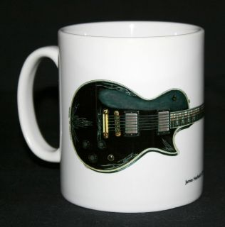 Guitar Mug. James Hetfields ESP JH 3 illustration.