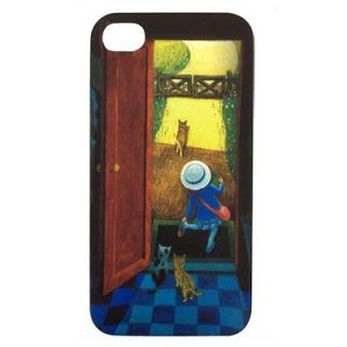 Skque Jimmy Series Carton Hard Back Case for Apple iPhone 4S Girl Cats