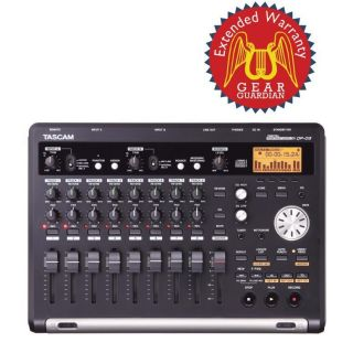 Tascam DP 03 Digital Portastudio with Gear Guardian Extended Warranty