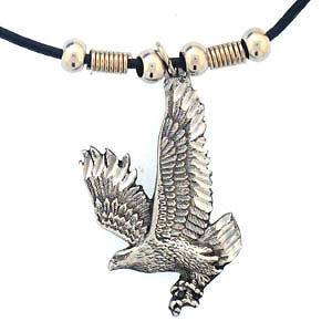FREE FORM EAGLE WILD LIFE ANIMAL STYLE EARTH SPIRIT NECKLACE NEW
