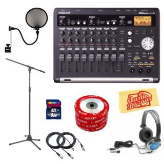 Tascam DP 03 Digital Portastudio Deluxe Bundle