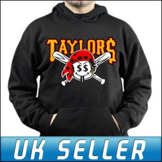 Taylor Pirates Wiz Khalifa Gang Black Hoodie Top Hoody Adults