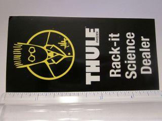 THULE BIKE SKI KAYAK RACK Black Car Truck Frame Bike Bicycle