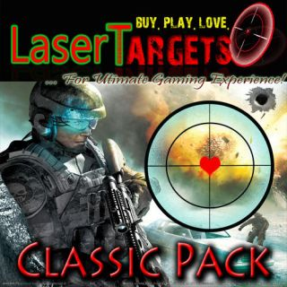 LASER SCREEN AIMING TARGETS FOR PS3/XBOX/PC AIMING PERK/CHEAT/GHO