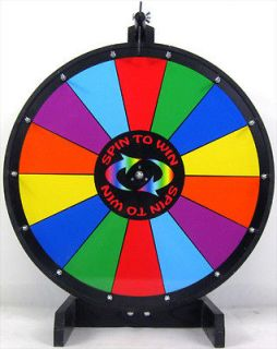 New 24 Gaming Carnival Crown Anchor Prize Wheel With Stand Base