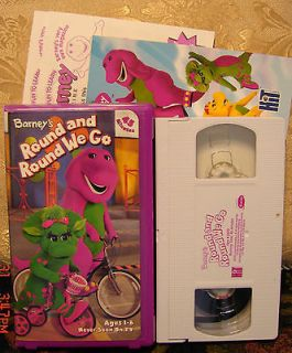 Barney Round And Round We Go Danny