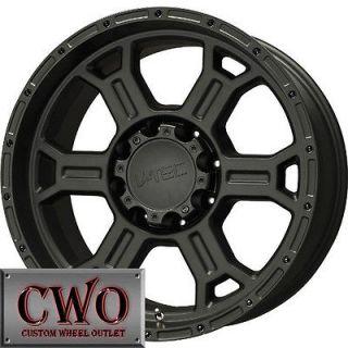 18 Black V Tec Raptor Wheels Rims 5x139.7 5 Lug Dodge Ram Durango