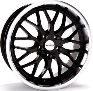 WHEELS 5X100/114.3 ET40 RIMS GLOSS BLACK (Fits 2013 Ford Explorer