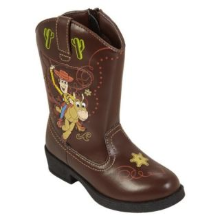Pixar Toy Story Light Up Western Cowboy Boots Woody Bullseye Toddler