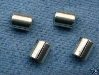 LEAD TEFLON 1/4 (6.35mm) bushings 4 off rc model boat