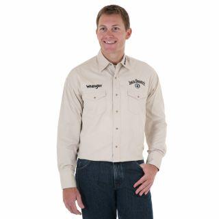 wrangler jack daniels in Casual Shirts