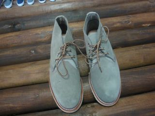red wing shoes chukka boots new in box SAGE
