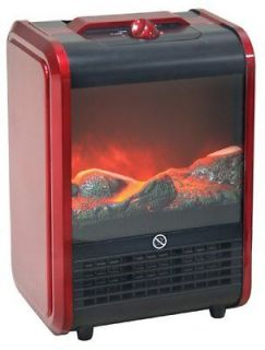 Comfort Zone Portable Fireplace w/ flame effect Space Heater Winter