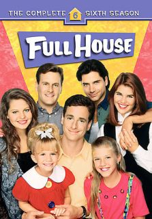 Full House   The Complete Sixth Season 6 (DVD, 4 Disc Set) New Free