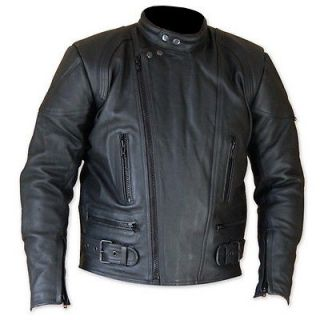 cruiser choper Harley Davidson style leather motorcycle jacket en cuir