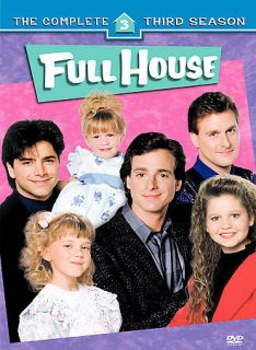 Full House   The Complete Third Season (DVD, 2006, 4 Disc Set)