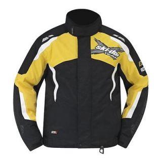 New 2013 Ski Doo X Team Winter Jacket Ylw Large #4405820910