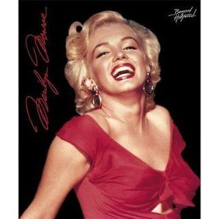 Original Marilyn Monroe Fleece throw Blanket 50 x 60 red dress
