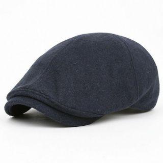 Newsboy Beret LDX Navy BLUE Cabbie GATSBY Flat CAP Fashion Golf Hat