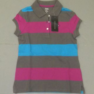 KIDS TOMMY HILFIGER CLASSIC S/S POLO SHIRT POLOS CHILDRENS T SHIRTS