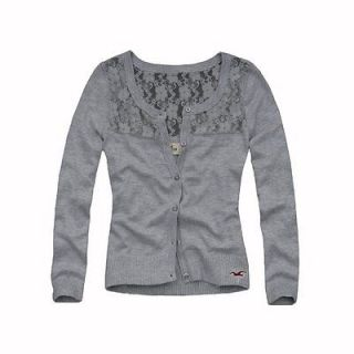 hollister lace cardigan in Sweaters
