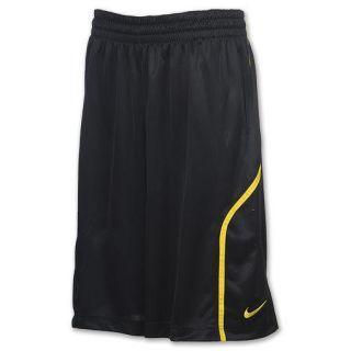 Nike LeBron James 330 Mens Basketball Shorts Black/Yellow #451129 012
