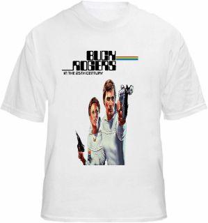 Buck Rogers T shirt Retro 70s TV Sci Fi Tee