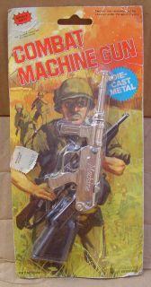 CAP THOMPSON MACHINE GUN MINIATURE DIE CAST   TOY GUN
