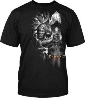 III 3 Tyrael Side New Blizzard Officially Licensed Adult T Shirt S 4XL