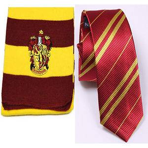 Newly listed NEW Harry Potter Gryffindor Costume Set Neck Tie + Scarf